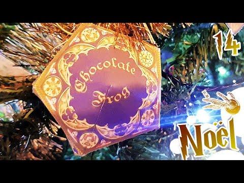 Comment Jour14: DIY HARRY POTTER PaperCraft Choco grenouille | Sapin de Noël ?