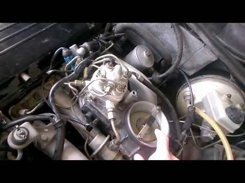 мерседес 103 двигатель заводится и глохнет и коптит