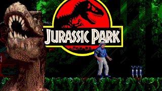 Jurassic Park (Sega Genesis) Playtнrough Longplay Retro game