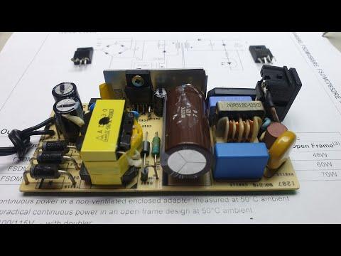 Hướng dẫn sửa nguồn xung của màn hình không có điện áp ra - Fix pulse power