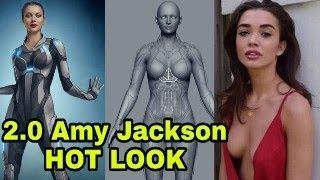 ROBOT 2.0 Amy Jackson hot look viral, 2.O making teaser, Akshay Kumar Rajnikant,Robot 2.0 Teaser