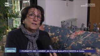 I furbetti del lunedì, mi fingo malato e resto a casa - La Vita in Diretta 11/12/2017