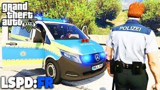 GTA 5 LSPD:FR - Autobahnpolizei und neues Fahrzeug - Deutsch - Polizei Mod #51 Grand Theft Auto V