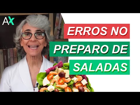 Erros No Preparo De Saladas