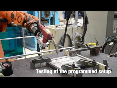 Metal Inert Gas Welding of Aluminium with a 6-Axis Robot