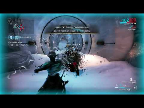 Warframe How to Farm Kuva Flood Solo Easy ( Capture Mission )