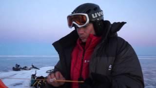 Як правильно ставити намет на льоду. Лайв-відео. Байкальський похід.