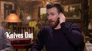 Chris Evans & Ana De Armas interview for Knives Out movie