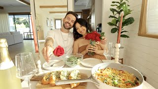 DATE NIGHT | One Pot Pasta w/Garlic Bread and Charcuterie Board | WHAT'S FOR SUPPER?