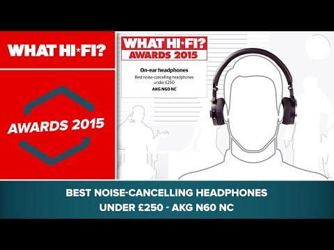 Best noise-cancelling headphones under £250 - AKG N60 NC