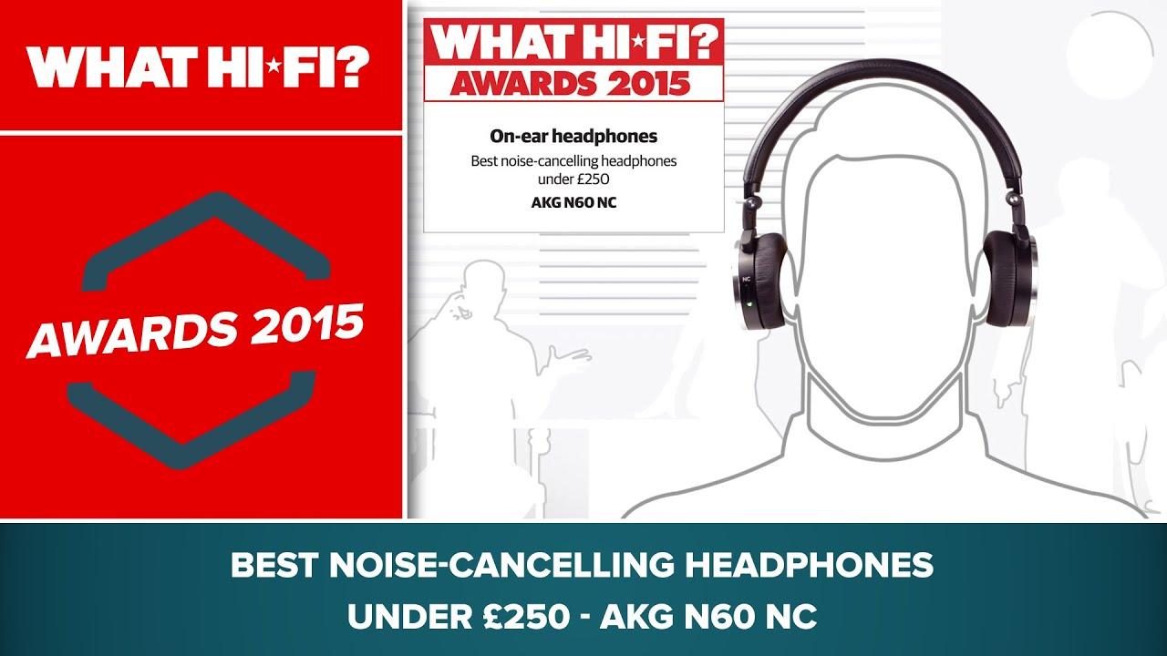 c0a23500226 Best noise-cancelling headphones under £250 - AKG N60 NC - YouTube