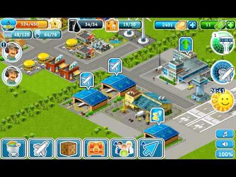 видео обзор Airport city Ipad Android обновление …