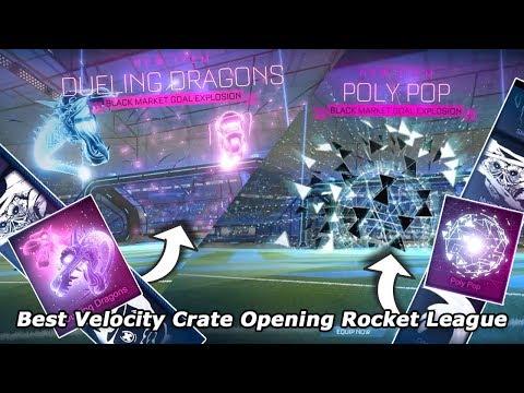 Best Velocity Crate Opening Rocket League