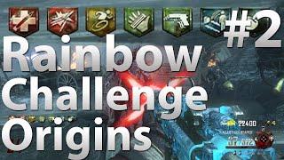 "Rainbow Perk Challenge V2: Origins (Part 2) - ""Black Ops 2 Zombies"""