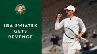 Iga Swiatek gets revenge   Roland-Garros 2020