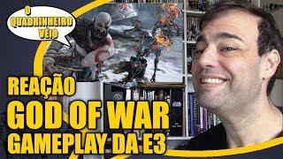 God of War - Reação Trailer E3 - O Quadrinheiro Véio Nerd