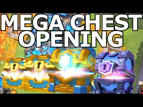 GIGANTISCH DIKKE CHEST OPENING!! ROAD to 3000!! CLASH ROYALE XL