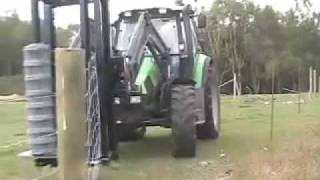 Gff2 - Hydraulic Fencing Machine