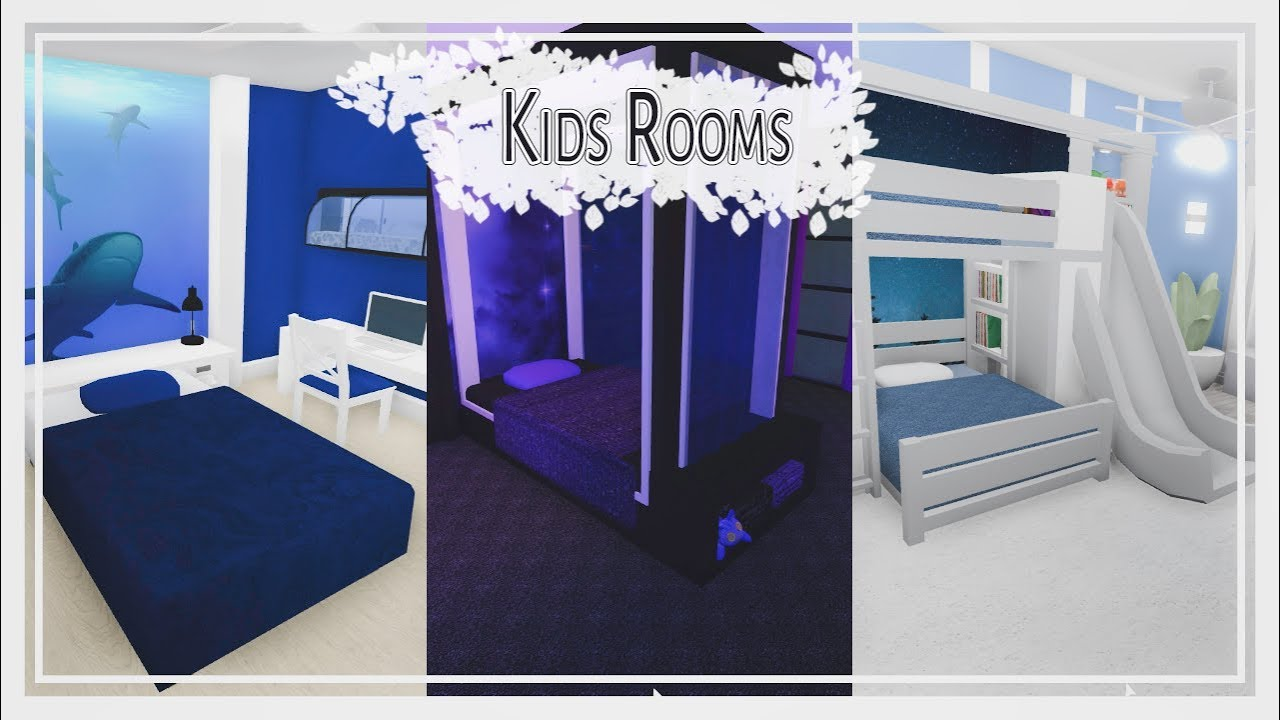 Bloxburg Kids Rooms Themed Room Styles Pt 1 Of 2 Youtube