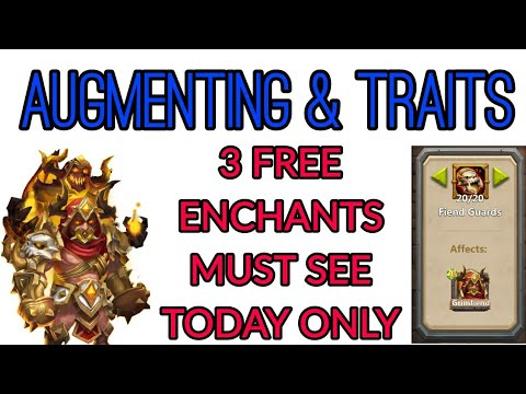 Augmenting And Traits For Grimfiend Castle Clash
