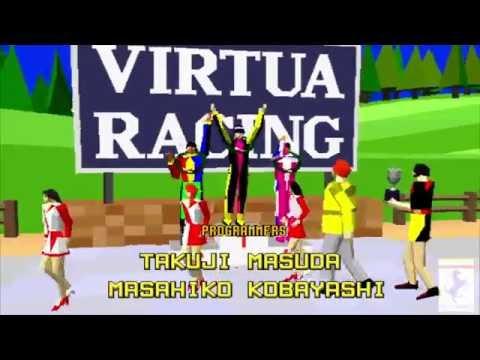 V.R Virtua Racing SEGA セガ ACARDE HD 1080p 60fps 48kHz