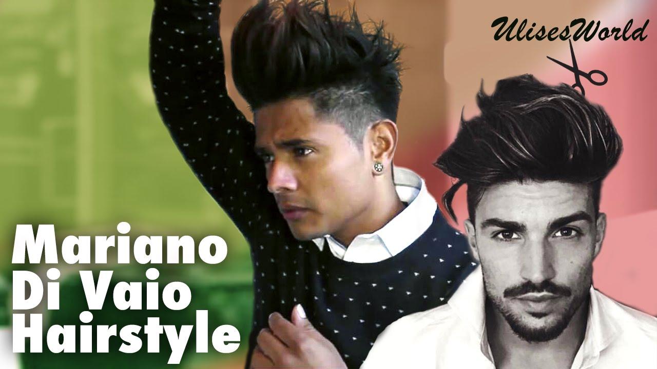How To Do Guys Big Hair Mariano Di Vaio Clipzui