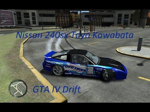 GTA IV Nissan 180sx Toyo Kawabata Drift