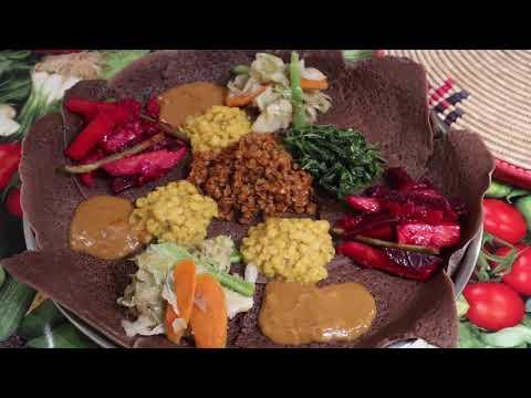 Ethiopian Food በያይነቱ እጅ የሚያስቆረጥም በጣም ጤነኛ ቁ,2