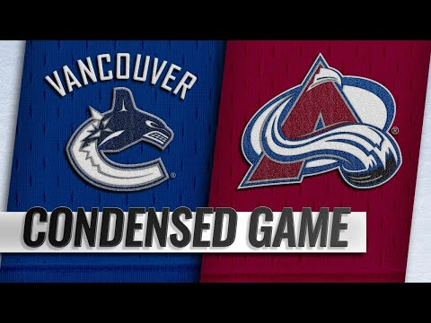 02/02/19 Condensed Game: Canucks @ Avalanche