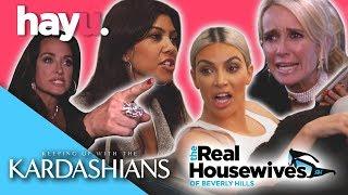Sisterly Love? The Richards VS The Kardashians   Franchise Face Off   hayu