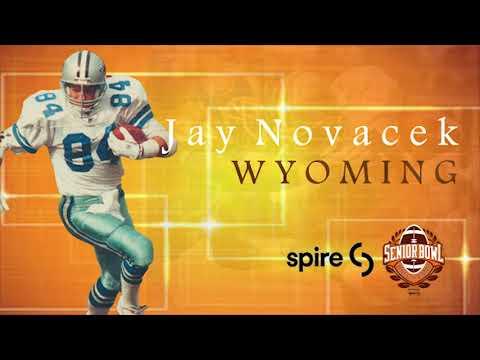 2018 Hall Of Fame: Jay Novacek, 1985 Senior Bowl