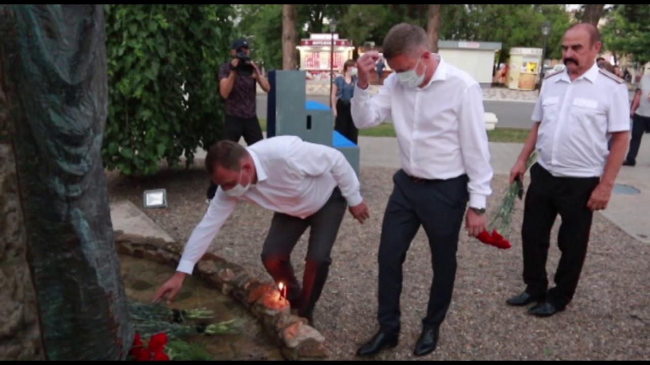 В Крымске почтили память жертв наводнения 2012 года