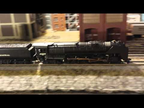 4-8-4 NYC Niagara - by Bachmann with Digitrax sound decoder