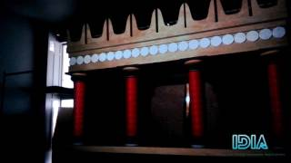 3d video mapping - Knossos Palace [ Greece]