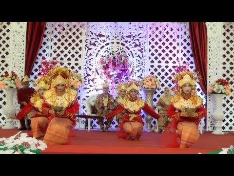 DANCE PAGAR PENGANTIN | Traditional Dance From Palembang South Sumatra - Indonesian