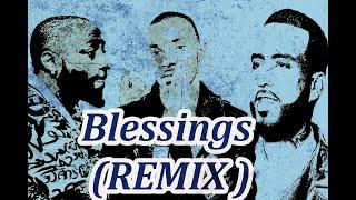Angel   Blessings (REMIX)  ft  French Montana, Davido (Lyrics)