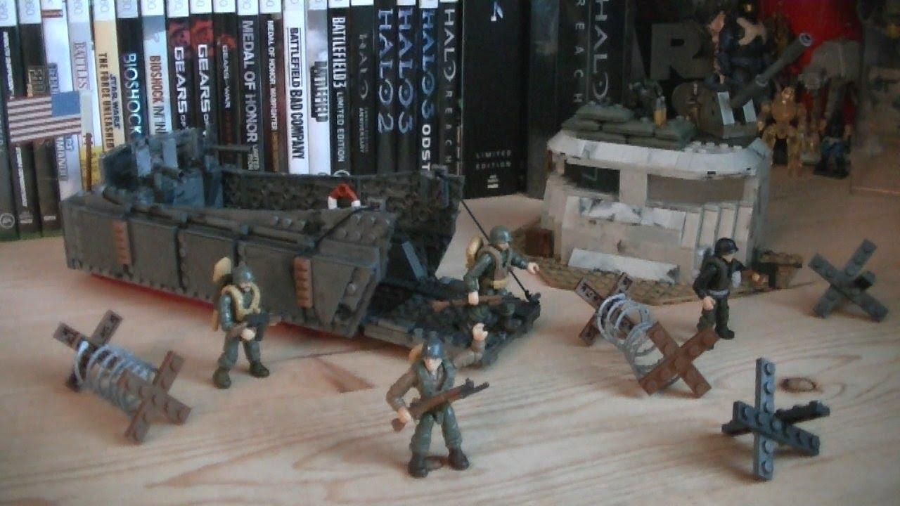 Call Of Duty Mega Bloks 06829 Landing Craft Invasion