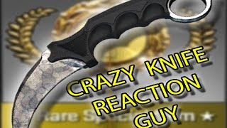 CS:GO KARAMBIT UNBOX EPIC REACTION