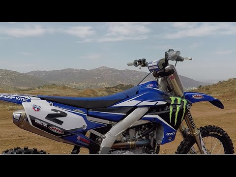 Cooper Webb's 2018 Yamaha YZ450F | First Look | TransWorld Motocross