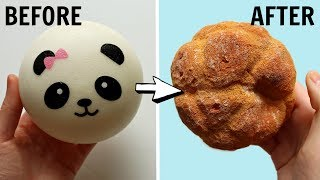 Squishy Makeover - Panda Bun to Pie Chou