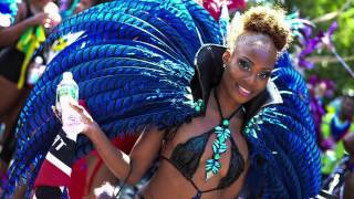 "LABOR DAY 2015 West Indian Day Parade (music - ""Drum Roll"" by Jo Jo)"