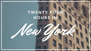 24 HOURS IN NEW YORK CLIP OF VLOG!!!! 🎥