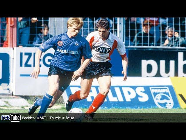 1991-1992 - Jupiler Pro League - 31. Club Brugge - RWD Molenbeek 3-1