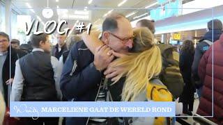 Marceliene on tour vlog 1: Vliegen voor gevorderden