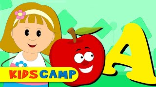 Phonics Song | ABC Songs for Children | Nursery Rhymes Collection by KidsCamp
