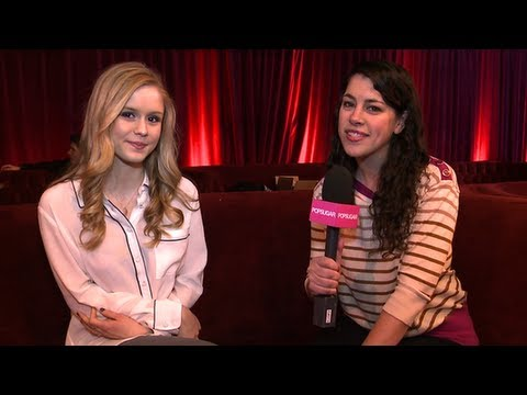 Erin Moriarty Talks About Filming With Snakes For Toy's House at Sundance