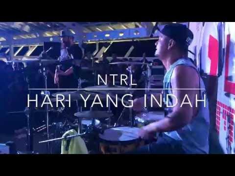 NTRL - Hari Yang Indah At Pitstop Skybar Palembang ( ENO NTRL DRUM CAM )