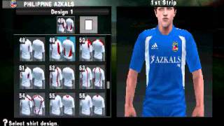Download Philippine AZKALS on PES 2012 PSP [HD]