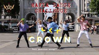 [KPOP IN PUBLIC] [MAFIA CHALLENGE] TXT (투모로우바이투게더) - Crown (어느날 머리에서 뿔이 자랐다) [UJJN] IN LONDON