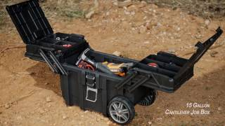 Keter 15 Gal Tools Storage System